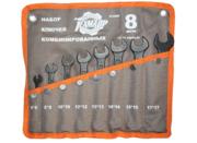 Набор ключей 8 пр. (6-17 мм) ТехМаш сумка